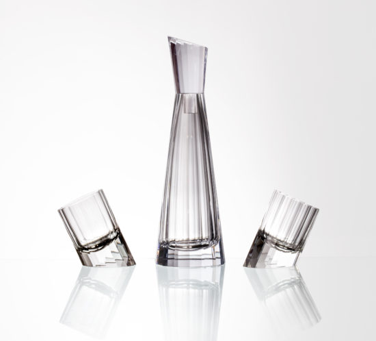 Crystal creative- Pisa whiskey set