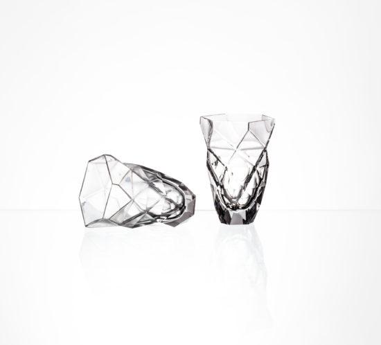 Crystal creative - Triangle twist glasses